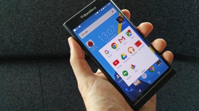 A BlackBerry szerint az Android a jövő kép