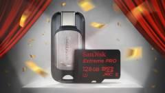 Itt a világ leggyorsabb microSD kártyája kép