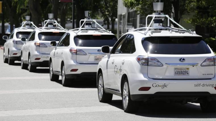 A Google robotautói hoznák a csomagod a futár helyett kép
