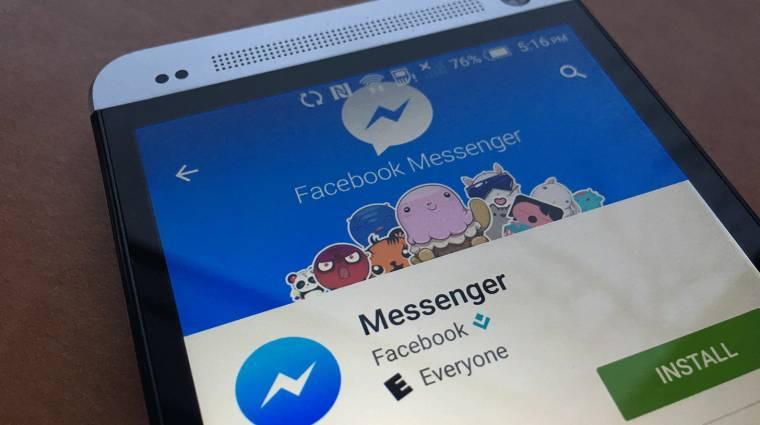 SMS-támogatással frissül a Facebook Messenger kép