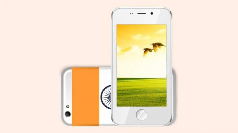 Ezer forintos okostelefon érkezik az indiai piacra kép