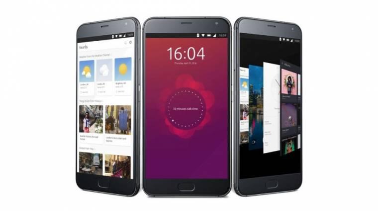 Felső kategóriás mobilon landolt az Ubuntu kép