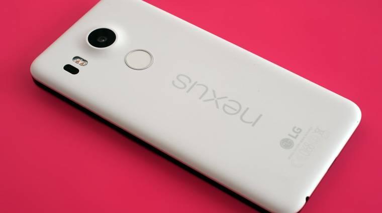 Nem lesz utódja az LG Nexus 5X-nek kép
