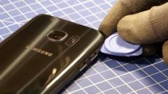 Így néz ki belülről a Galaxy S7 kép