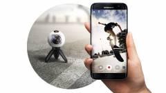 Így rögzíti a világot 360 fokban a Samsung kép