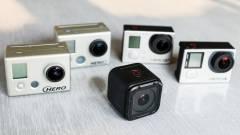 Eltűnnek a GoPro olcsó akciókamerái kép