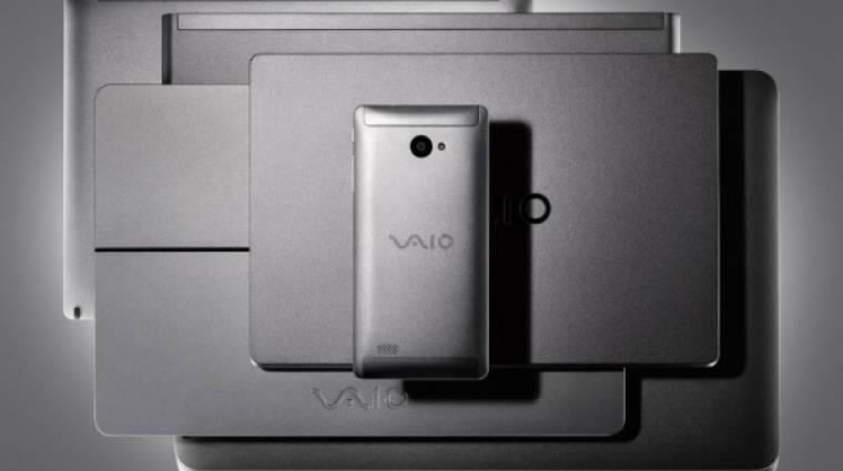 Windows 10-es okostelefonnal újít a VAIO kép