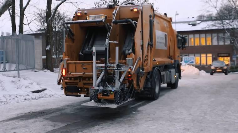 Videó: robotokkal ürítené a kukákat a Volvo kép
