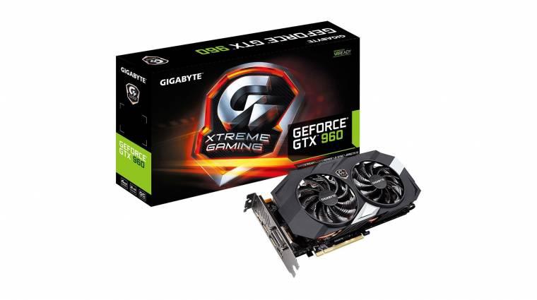 RGB-s világítást kapott a Gigabyte GeForce GTX 960 4GB Xtreme kép