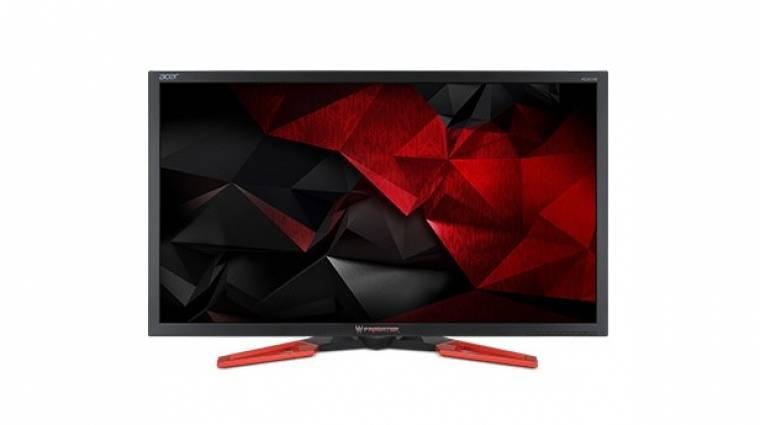 Bemutatkozott az Acer új ragadozó gamer monitora kép