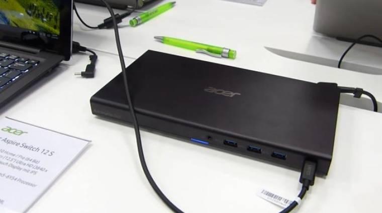 Grafikus dokkolóval erősít az Acer táblagépe kép