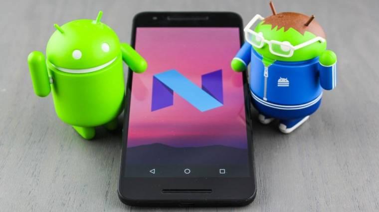 Többablakos móddal is frissít az Android N kép