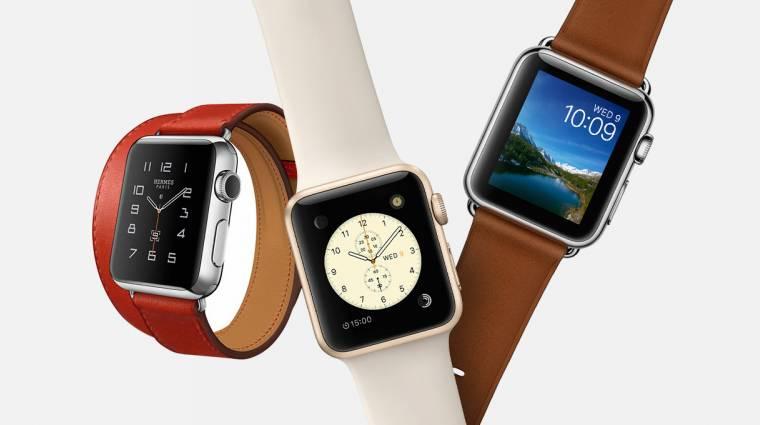 Minden második okosóra Apple Watch lesz kép