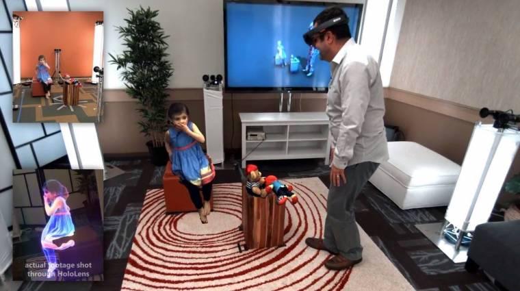 Elképesztő dologra képes a HoloLens kép