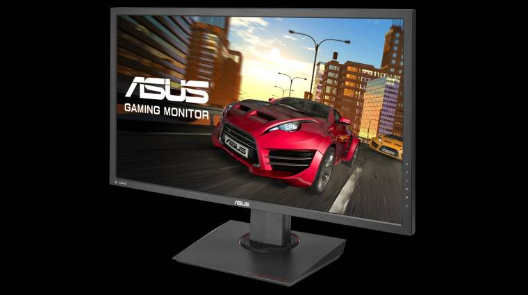 Játékra is jó az ASUS új 4K-s monitora kép