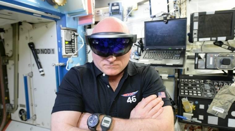 Az űrhajósokat is lenyűgözte a HoloLens kép