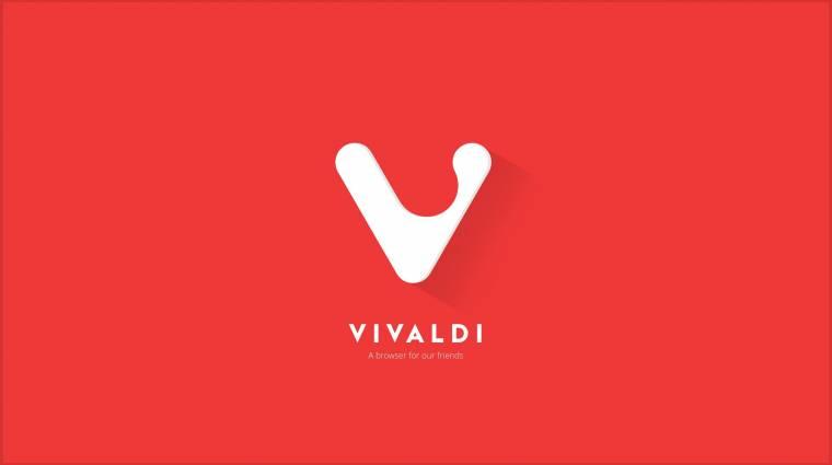 Közeleg a Vivaldi böngésző stabil kiadása kép