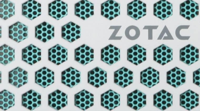 Ütős minigéppel újított a ZOTAC kép