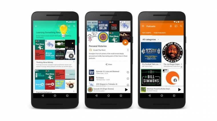 Podcasteket kapott a Google Play Zene kép