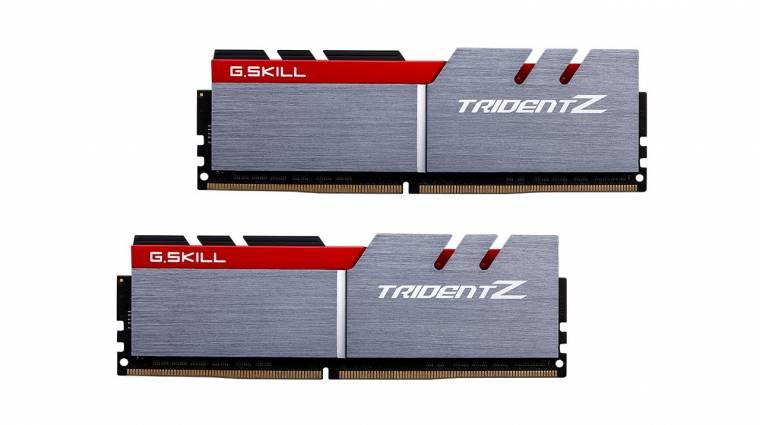 Alacsony időzítéssel működik G.Skill  DDR4-3600 kitje kép