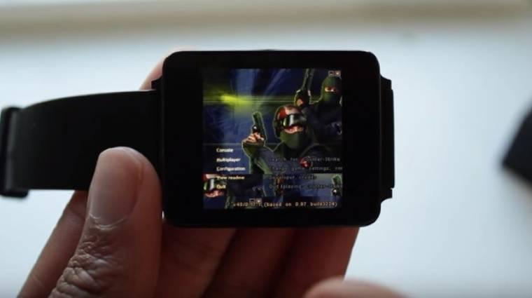 Okosórán is fut a Counter Strike kép