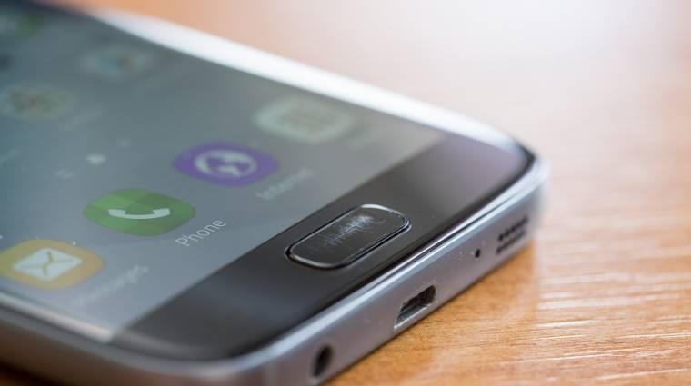 Könnyen karcolódik a Galaxy S7 home gombja kép