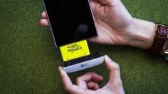 Az LG G5-nek még a javítása is moduláris kép