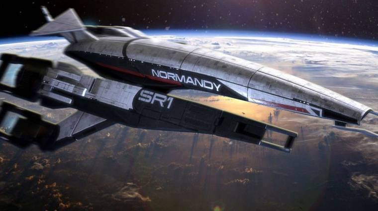 4D-s utazásra csábít a Mass Effect űrhajója kép