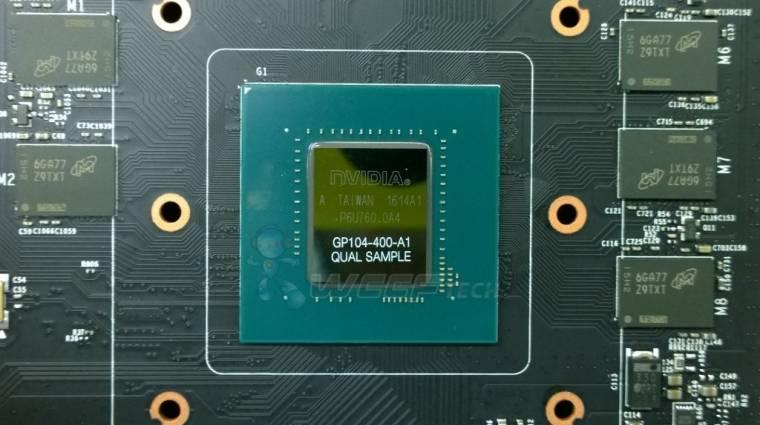 GDDR5X memóriát kapott a GeForce GTX 1080 kép