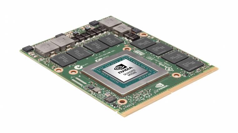 Bemutatkozott a legerősebb mobil NVIDIA Quadro kép