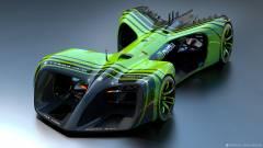Sofőr nélküli versenyautókban utazik az NVIDIA kép
