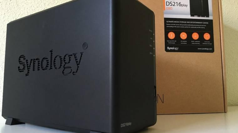 DS216Play - lejátszás 4K-tól mobilig kép