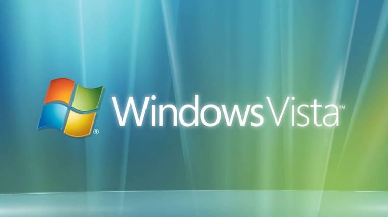 Egy év múlva vége a Windows Vista támogatásának kép