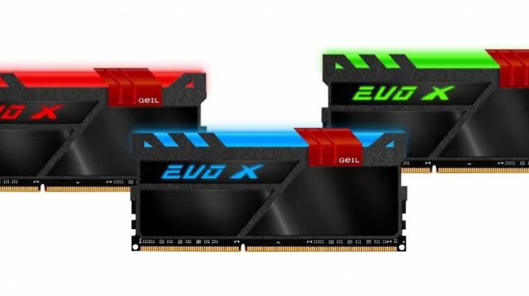 Világítanak a GeIL új DDR4-es memóriái kép