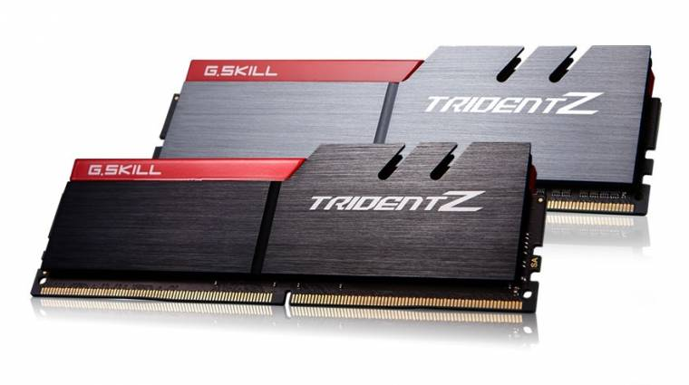 Áttörte az 5 GHz-es határt a G.Skill Trident Z DDR4-es memóriája kép