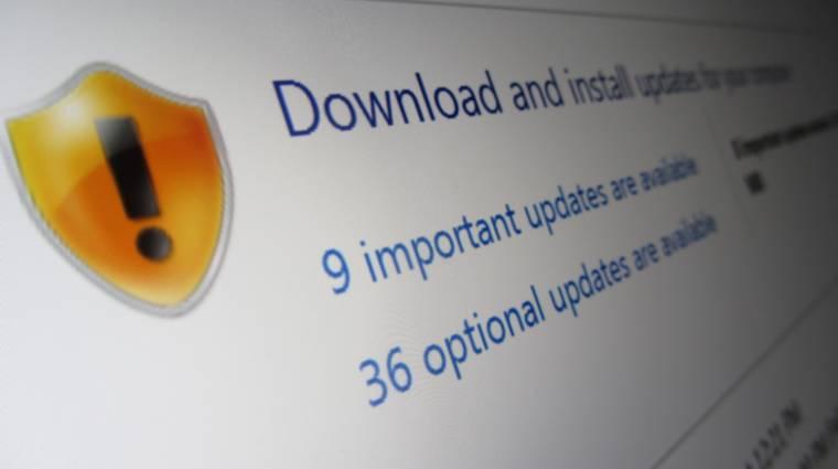 Nem lesz kézzel letölthető a Microsoft összes patche kép