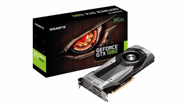 Befutottak az első GeForce GTX 1080 Founders Edition kártyák kép