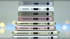 Ilyen egymás mellett az összes Apple iPhone kép
