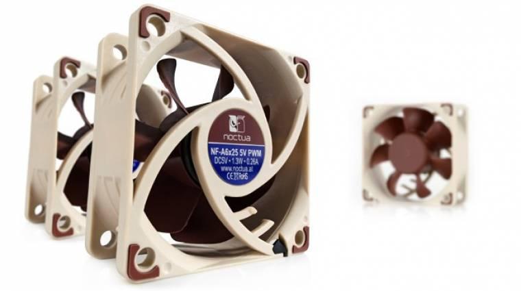 5 voltos ventilátorokkal újított a Noctua kép