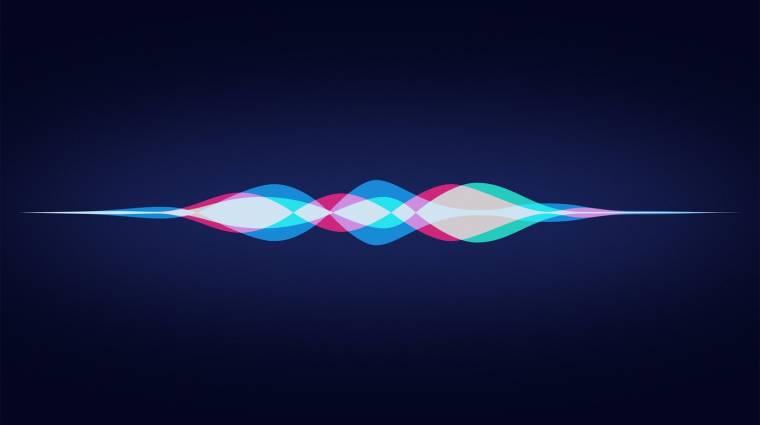 Felköti a Siri gatyáját az Apple kép