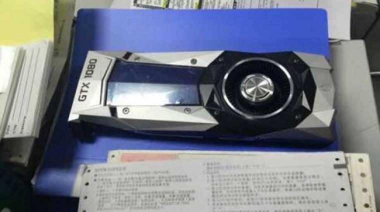 Már a héten bemutatkozik a GeForce GTX 1080 és GTX 1070 kép