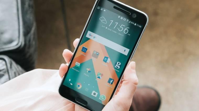 A gödörben sem aggódik az HTC kép