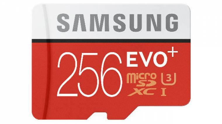 Sokba kerül a Samsung 256 GB-os microSD-je kép