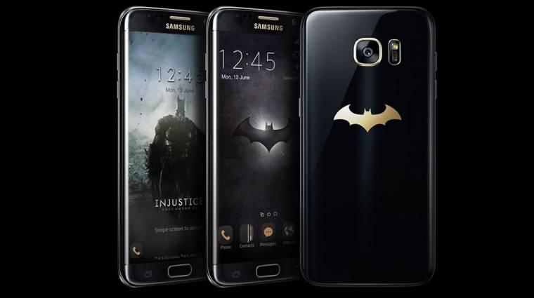 Batman-mobilt dob piacra a Samsung kép