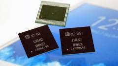 10 nm-es a Samsung 6 GB-os LPDDR4 DRAM-ja kép