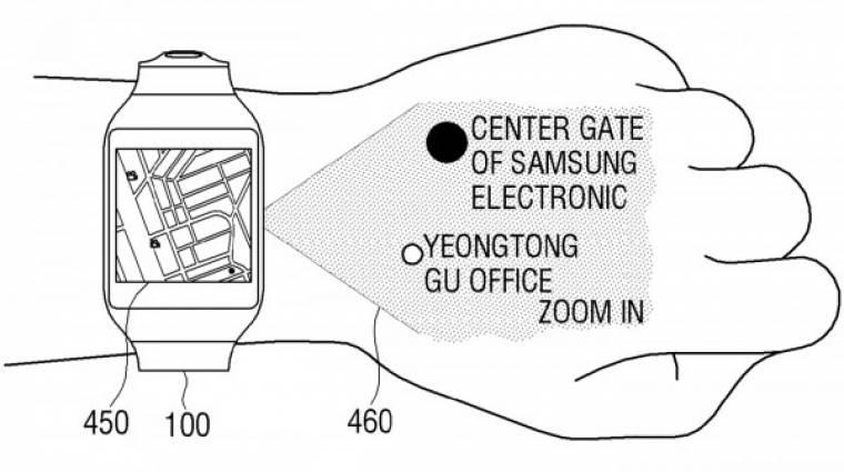 Projektoros okosórával készülhet a Samsung kép