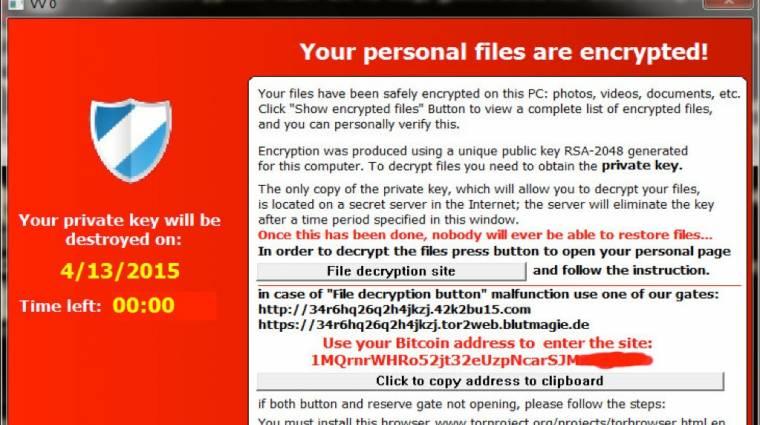 Feloldhatóak a TeslaCrypt által titkosított fájlok kép