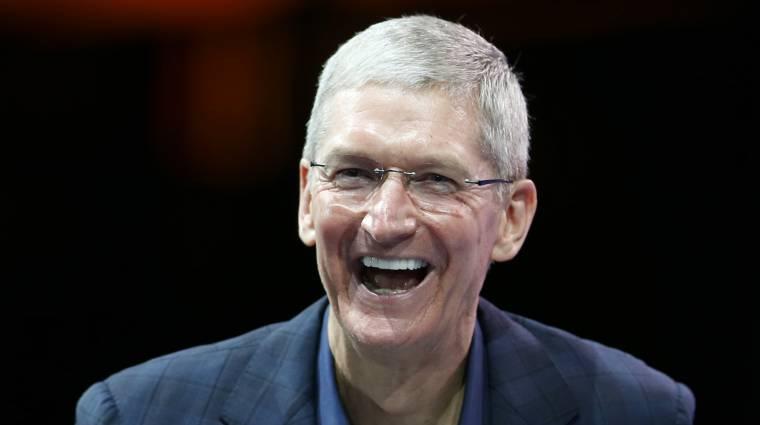 Kiraknák Tim Cookot az Apple-ből kép