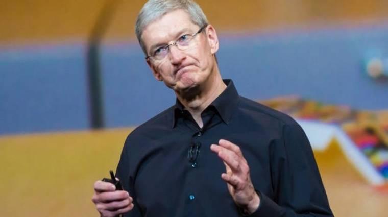 Tim Cook bevallotta: az iPhone túl drága kép