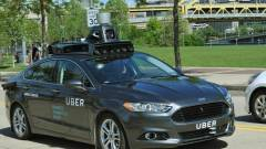 Ilyen az Uber első robotautója kép